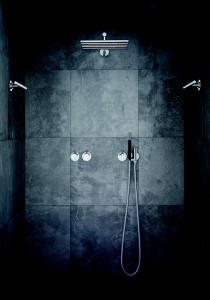 Vola – Build-in shower combination