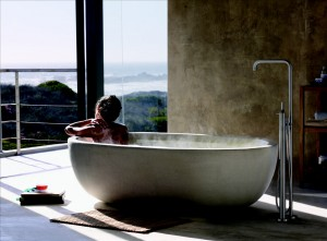 Vola – Freestanding bath mixer